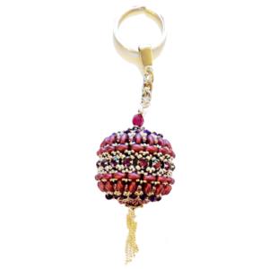 Schlüsselanhänger - Königin der Nacht in Lila