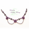 Collier - Canterbury Rose (Vorderseite)